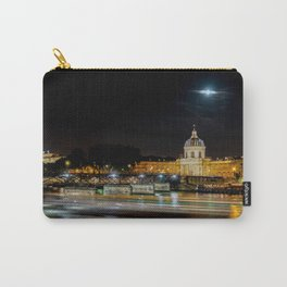 Institut de France and Pont des Arts at nigth - Paris Carry-All Pouch