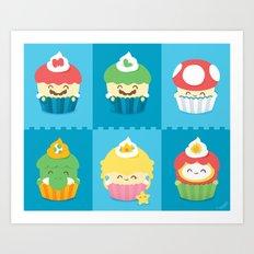 YUMario Bros Art Print