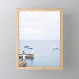 02. Belle Île en Mer, Bretagne, France Framed Mini Art Print