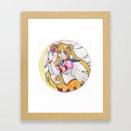 Eternal Sailor Moon Framed Art Print