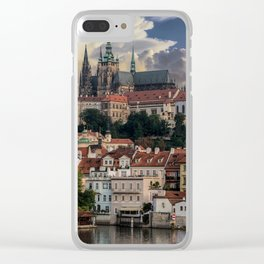 Sunny day in Prague Clear iPhone Case