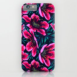 Manuka Floral Print iPhone Case
