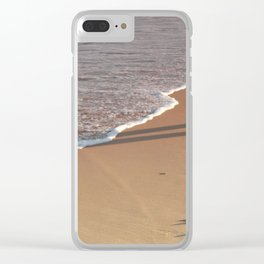 Rose-tinted Water Line Clear iPhone Case