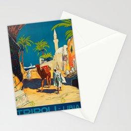 Vintage poster - Tripoli Stationery Cards