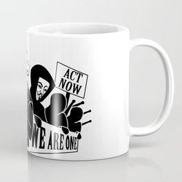 Anonymous Crowd - Your Plight Here! Coffee Mug
