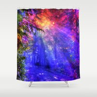 once upon a  time Shower Curtains featuring Once upon a time by haroulita