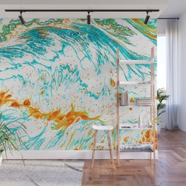 Waves of Thought #abtsract #painting Wall Mural