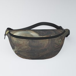 """Circle of Théodore Géricault """"A grey charger"""" Fanny Pack"""