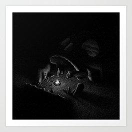 Drawlloween 2016: Skull Art Print