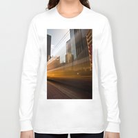 aperture Long Sleeve T-shirts featuring Ghost Train 2 by Mark Alder