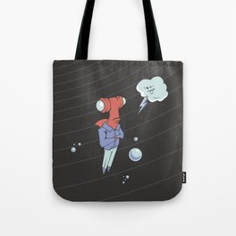 Sharkbait: A Journey Through Time and Space Tote Bag