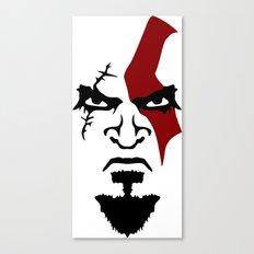 Kratos Face Canvas Print