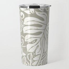 Vintage Organic Samoan Tribal Design Travel Mug