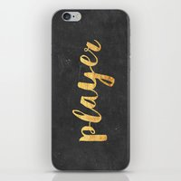 2pac iPhone & iPod Skins featuring Player by Text Guy