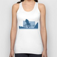 lawyer Tank Tops featuring Jurassic Park poster - feat. Donald Gennaro by Peter Cassidy