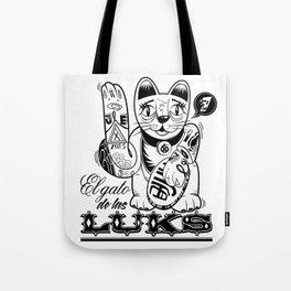 ''Gato de las LUKS'' Tote Bag