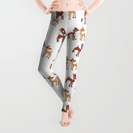 Classic Rudolph and Clarice Leggings