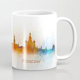 Moscow City Skyline art HQ v3 Coffee Mug