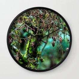 Little Pinecones Wall Clock