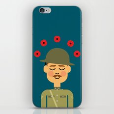 Remembrance Day iPhone & iPod Skin
