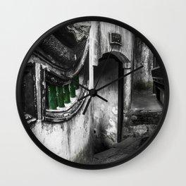 colorless shanghai 8 Wall Clock