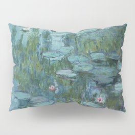 Nymphéas, Claude Monet Pillow Sham