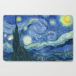 Vincent van Gogh Starry Night 1889 Cutting Board