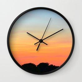 Sunset, Leith Wall Clock