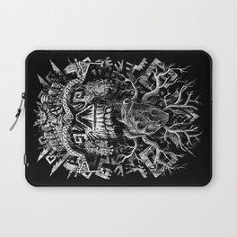 Aztec Skull Laptop Sleeve