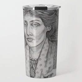 Women in Water: Virginia Woolf Off the Isle of Skye Travel Mug