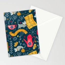 Pattern #71 - Hygge - Cosy winter Stationery Cards