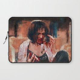 Adrenaline Shot - Mia Wallace - Pulp Fiction Laptop Sleeve