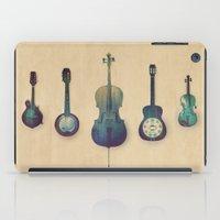 justin timberlake iPad Cases featuring Good Company by Amy Hamilton