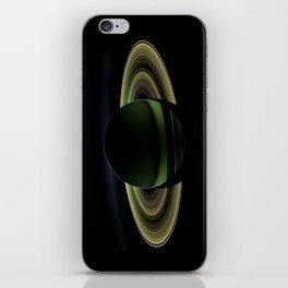 Glorious view of Saturn iPhone Skin