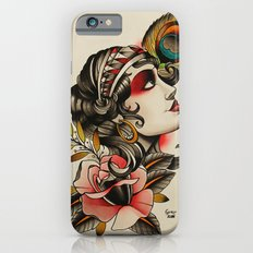 Gipsy girl - tattoo iPhone 6 Slim Case