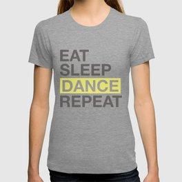 Dancing Lover Gift for Dancer Eat Sleep Dance Repeat Gift T-shirt