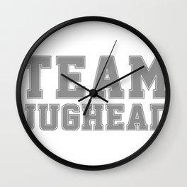 Team Jughead Wall Clock