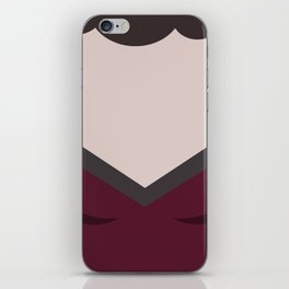 Deanna Troi - Minimalist Star Trek TNG The Next Generation - 1701 D - startrek - Trektangles iPhone Skin