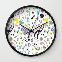 Retro Nostalgia Wall Clock