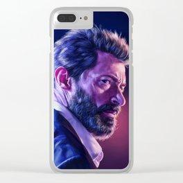 Logan Clear iPhone Case