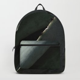 Agave Succulent Plant Close-up Backpack