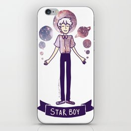 STAR BOY iPhone Skin