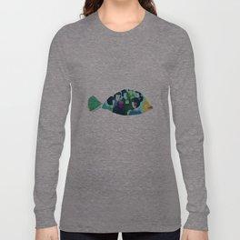 Geishas at sea Long Sleeve T-shirt