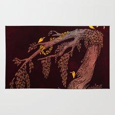 Tree Birds Rug
