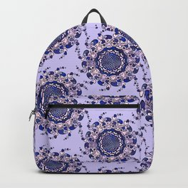 Hearts only! blue Backpack