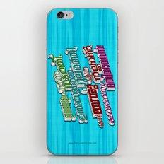 Malayalam Hymn (3D - multiple colors) iPhone & iPod Skin