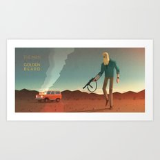 The Man with the Golden Beard Art Print