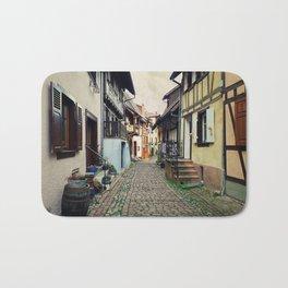 Eguisheim village Alsace Bath Mat