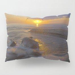 Hurricane Sunset Pillow Sham