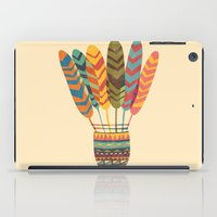 rustic iPad Cases featuring Rustic shuttlecock by Picomodi